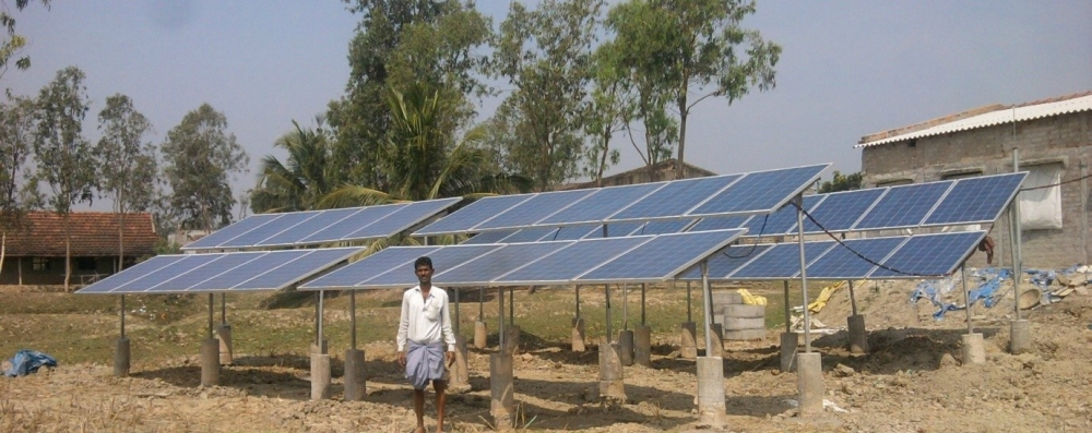 Solar power is key for bringing electricity to all Indians