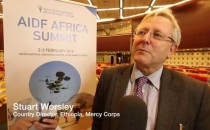 AIDF Africa Summit 2016 - Interview with Stuart Worsley, Mercy Corps