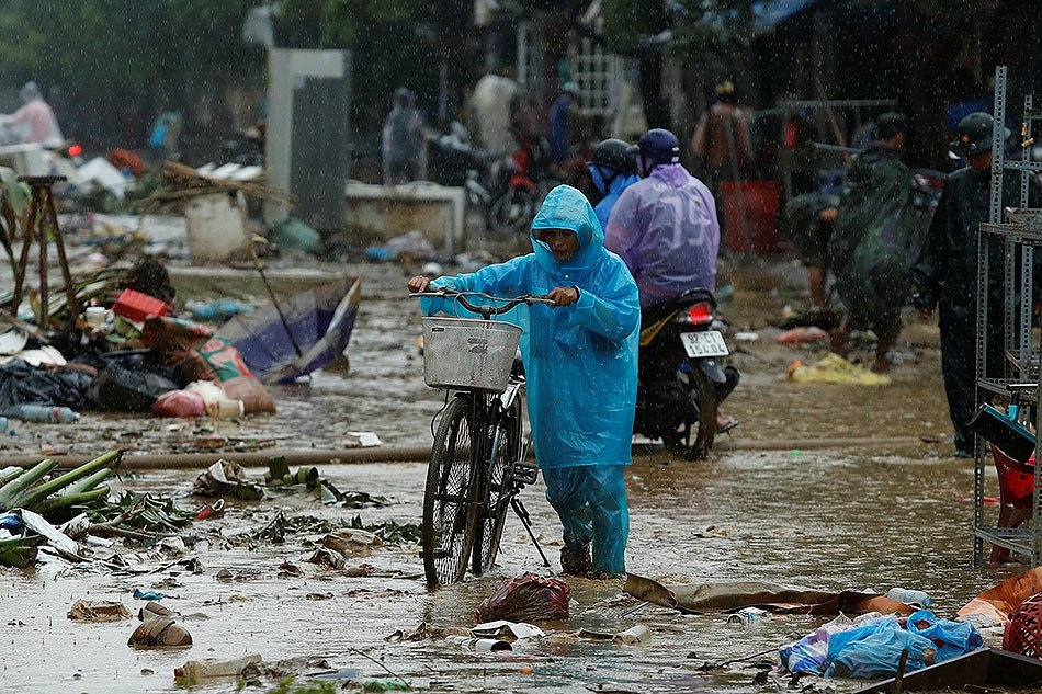 Typhoon Damrey Takes Over Southern Vietnam