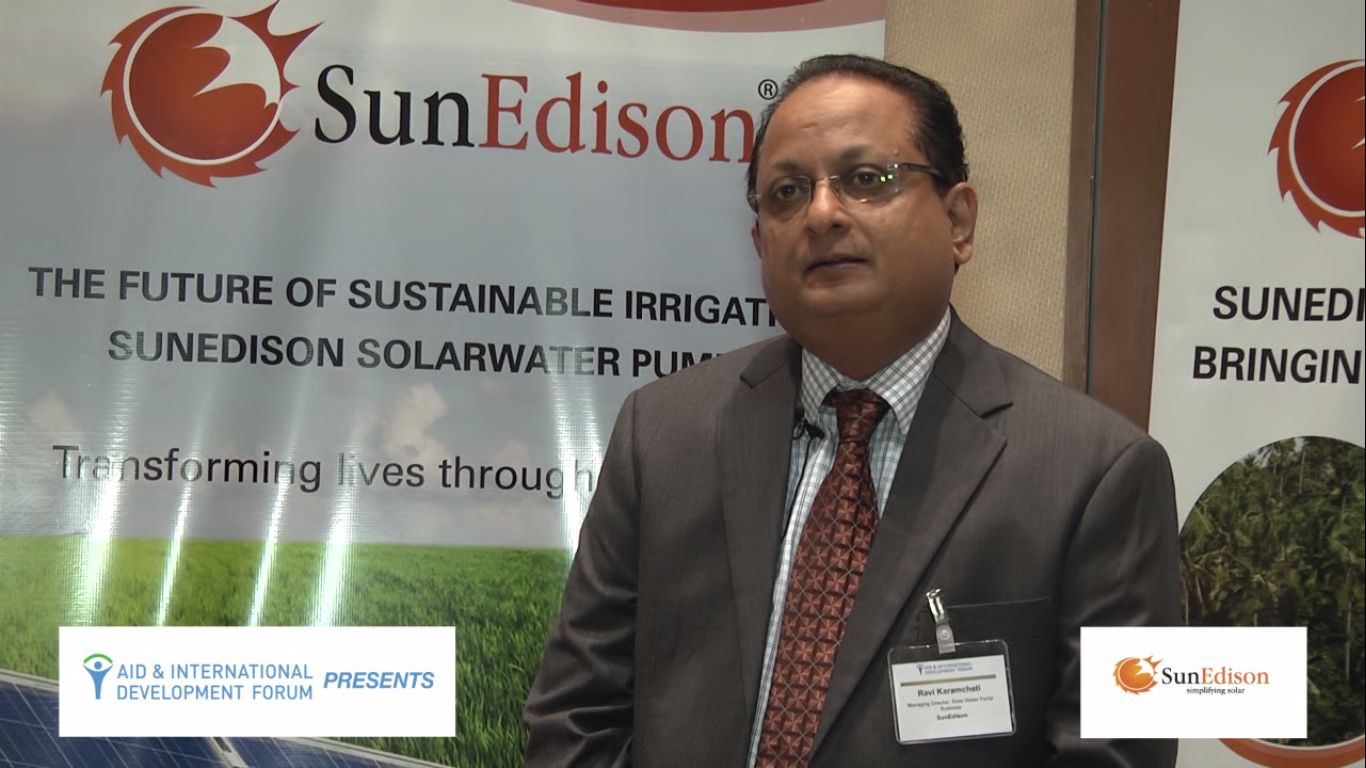 Ravi Karamcheti, SUNEDISON - AIDF Water Security Summit Asia 2014