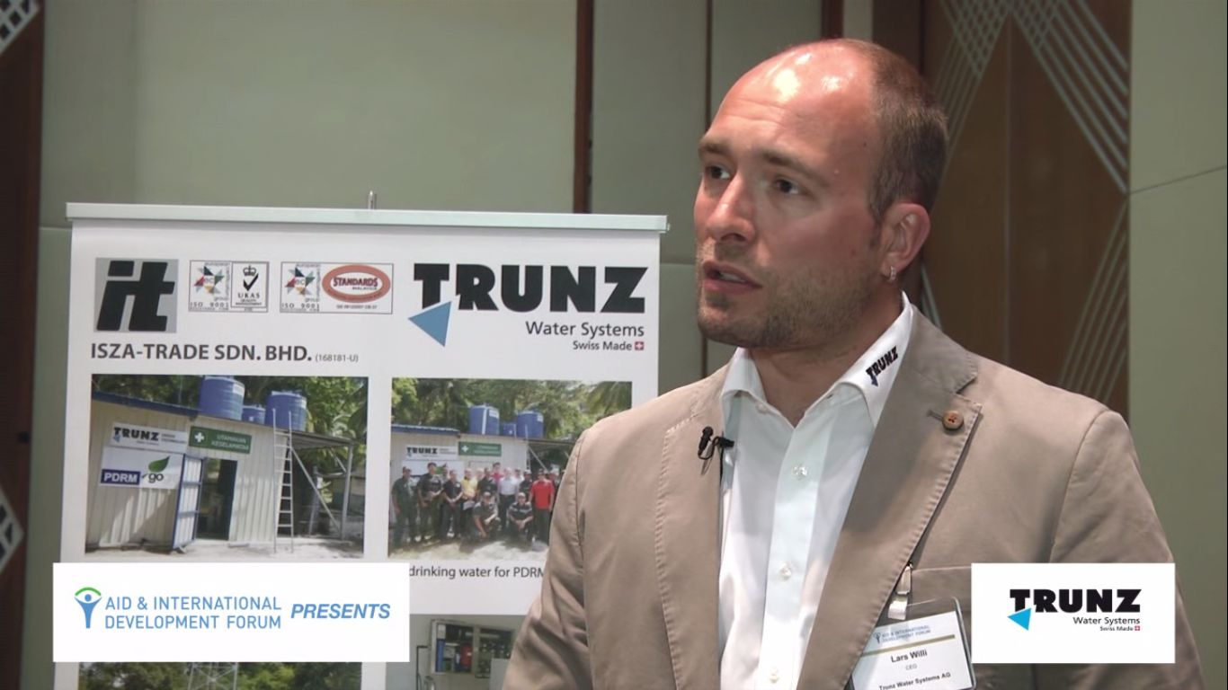 Lars Willi, TRUNZ - AIDF Water Security Summit Asia 2014
