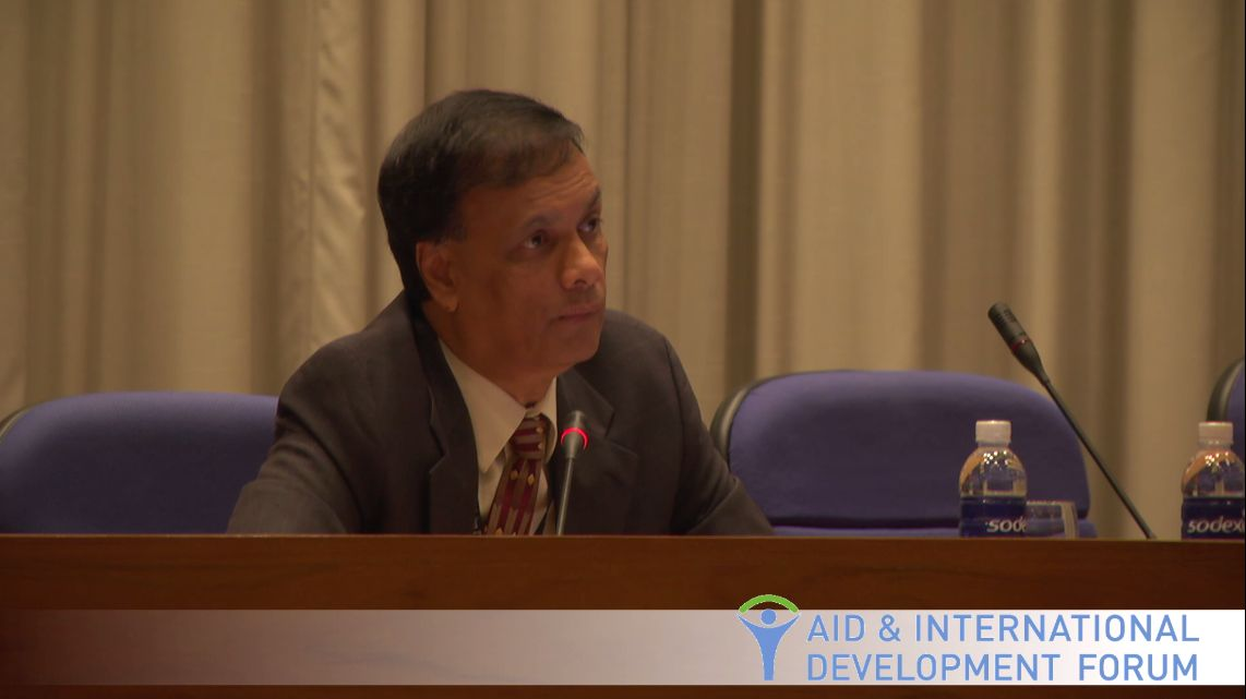 Vinod Thomas, Asian Development Bank (ADB) - AIDF Food Security Summit 2013