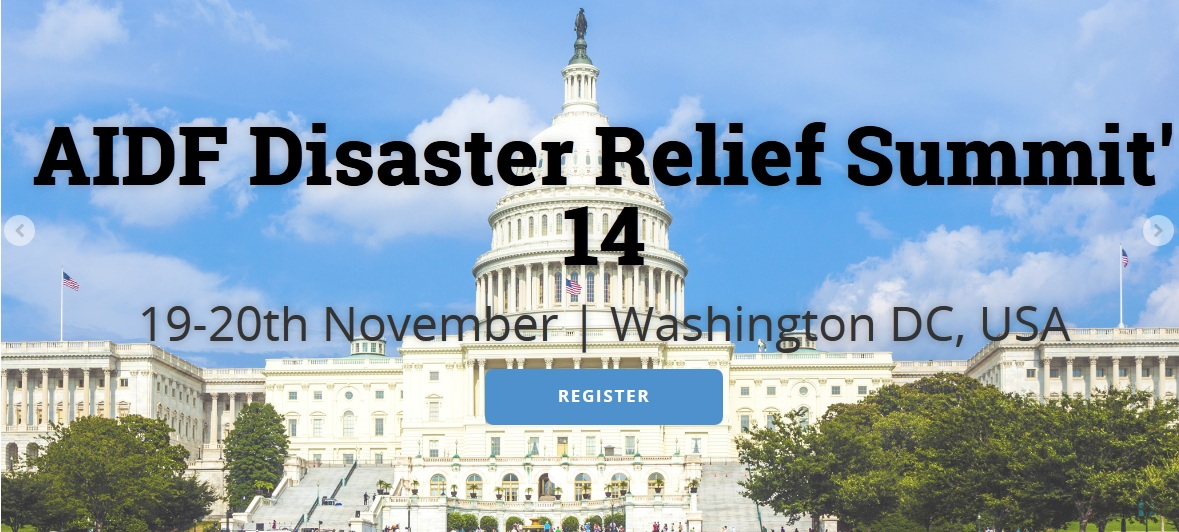 AIDF DISASTER RELIEF SUMMIT 2014