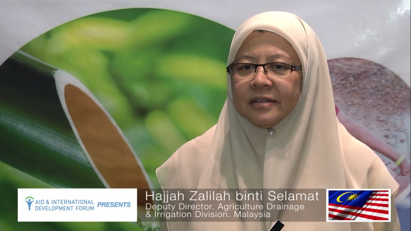 Hajjah Zalilah Binti Selamat - AIDF Water Security Summit Asia 2014